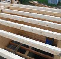 Конструктивные требования к прогибам деревянных балок