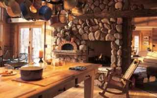 Разновидности камня для кладки печей