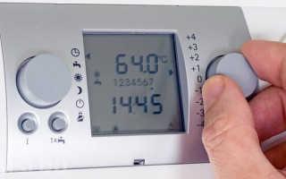 Термостат для газовых котлов отопления