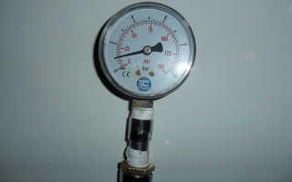 О давлении воды в трубах