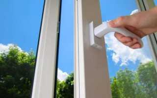 Как отремонтировать заклинившую ручку пластикового окна