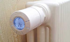 Термоголовка с выносным датчиком для радиатора отопления