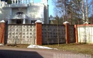 Как покрасить забор из бетона