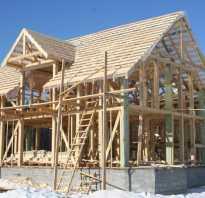 Как быстро построить деревянный каркас дома своими руками