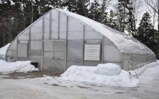 Автономная теплица для круглогодичного выращивания