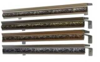 Ключевые преимущества металлических карнизов