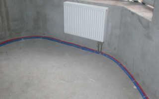 Прокладка труб отопления способы и правила обустройства