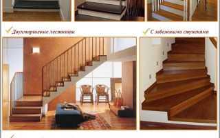 Лестница из бетона для дома своими руками