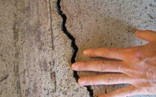 Устранение трещин с помощью армированной сетки