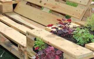 Садовая мебель изготовление своими руками
