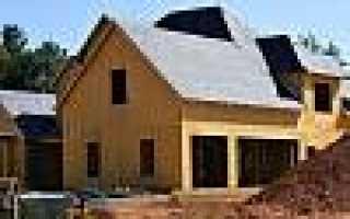 Этапы строительства домов из сип панелей