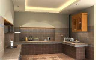 Какие натяжные полотна используют на кухне