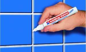 Чем покрасить затирку для плитки