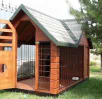 Основные элементы собачьего жилья и правила их монтажа