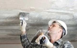 Пошаговая подготовка к покраске потолка своими руками