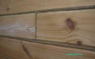 Инструмент для конопатки дома из бруса