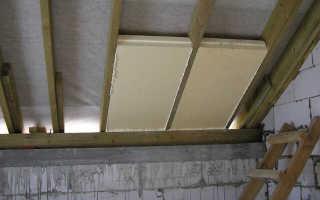 Утепление крыши пенопластом особенности материала технология