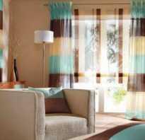 Выбор цвета штор под цвет обоев