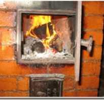 Как строятся отопительные печи из кирпича