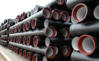 Монтаж и эксплуатация чугунных канализационных труб