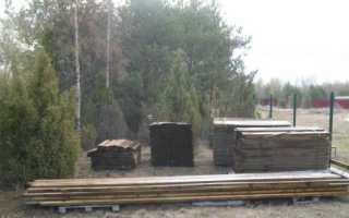 Деревянный забор своими руками пошаговая инструкция