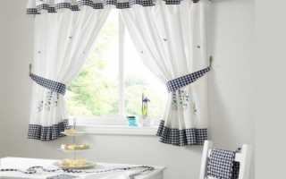 Как сшить шторы на кухню своими руками быстро и качественно