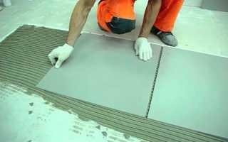 Укладка гвл на бетонный пол