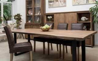 Как самостоятельно сделать деревянный стол
