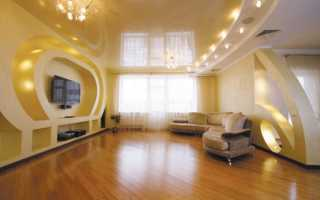 Правила размещения точечных светильников на потолке