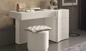 Стандартные размеры туалетного столика