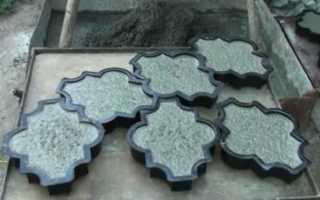Вибрационный стол для тротуарной плитки своими руками