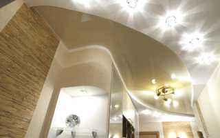 Монтаж светильников для потолка из гипсокартона