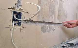 Работа со стенами и простенками