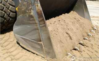 Какой песок нужен для фундамента технические параметры