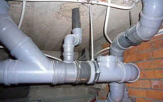 Особенности монтажа вентиляции из канализационных труб