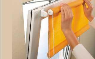 Как изготовить кассетные шторы своими руками