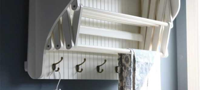 Приспособления для сушки белья на балконе фото