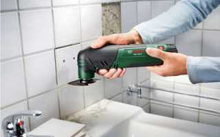 Замена затирки для плитки в ванной
