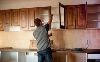 Декорирование кухонных фасадов своими руками