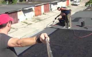 Как выполняется гидроизоляция крыши гаража своими руками
