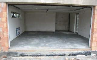 Какой маркой бетона залить пол в гараже