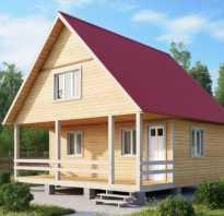 Сложная двускатная крыша