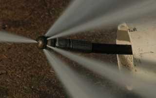 Гидродинамический способ очистки