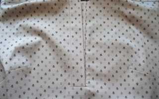Изготовление и крепление планки из ткани