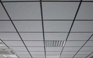 Расчет комплекта потолочной системы