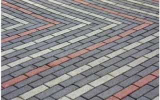 Разнообразие схем укладки тротуарной плитки кирпич