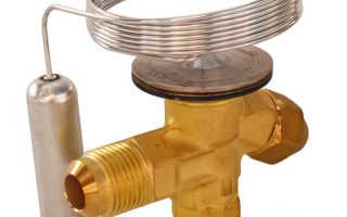 Структура и особенности функционирования терморегулирующего вентиля (трв)