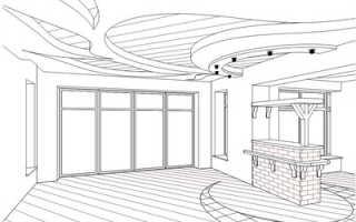 Создание проекта потолка из гкл