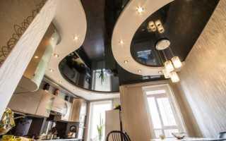 Виды освещения на кухне с натяжным потолком