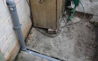 Прокладка канализации при установке домашней сантехники